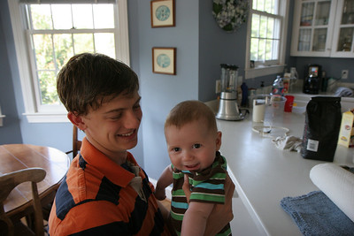 Uncle Jack and I like stripes