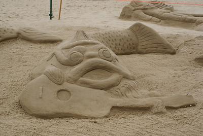 Virginia Beach - Sand Art