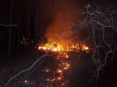 WEST MAHANOY TOWNSHIP MOUNTAIN FIRE 3-23-09
