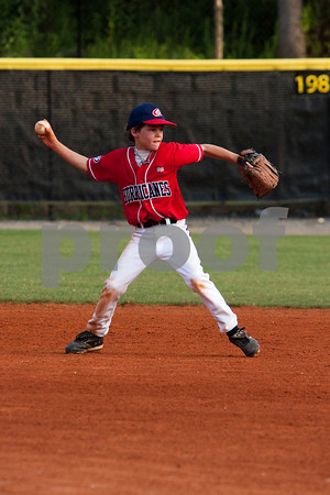 8U Midway Mustangs Blue vs East Side Hurricanes