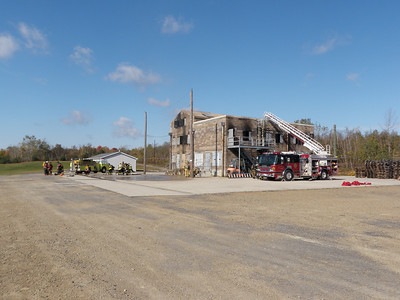 SHENANDOAH FIRE DEPT & WILLIAM PENN STRUCTURAL BURN 10-11-2009