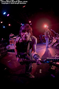 CKY playing on stage at The Roxy on Friday night, July 3, 2009 in Hollywood, Calif. (Photo by Sergio Bastidas/Sini69 Photography, 2009©)