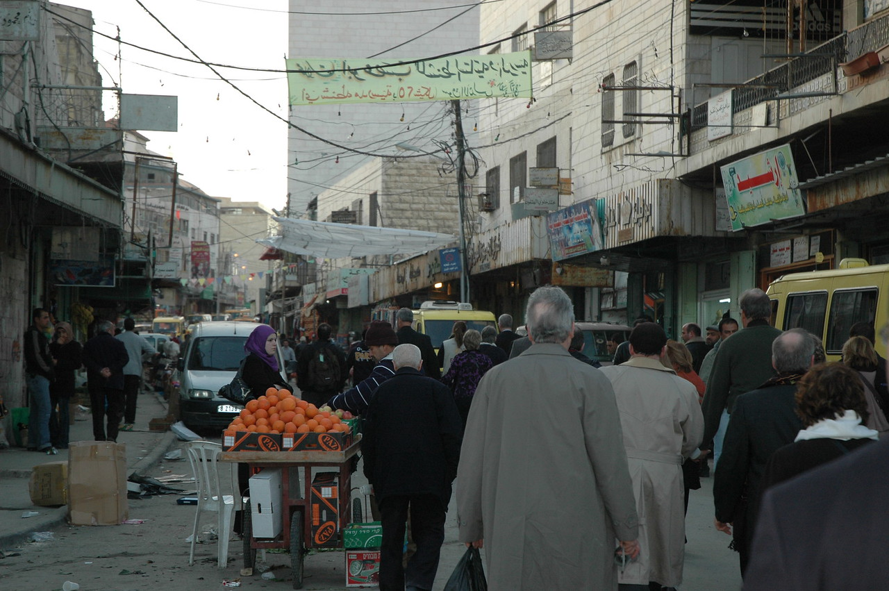 The North American Lutheran bishops walked through the center of Hebron, a conflicted city in the West Bank.