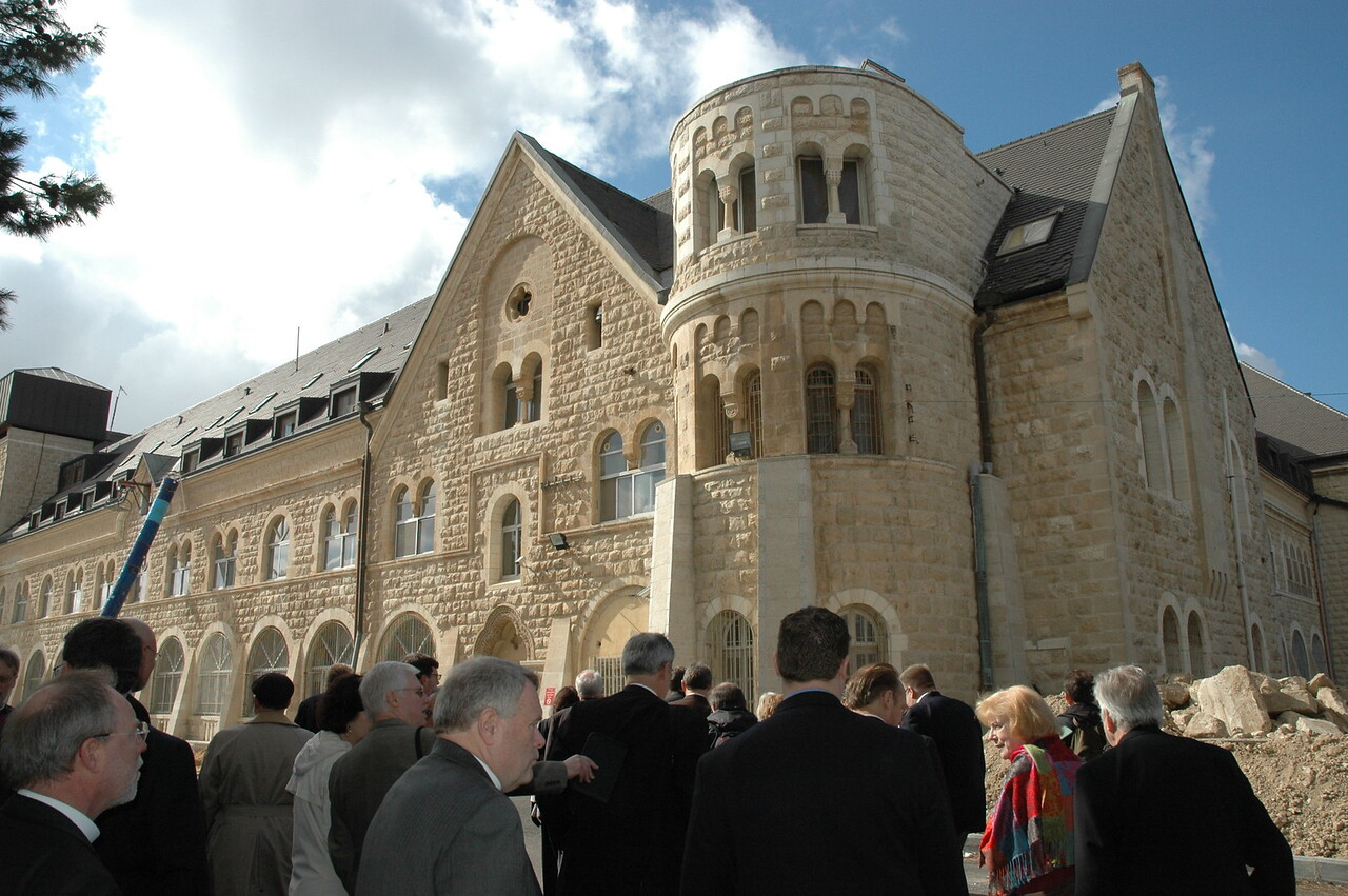 North American Lutheran bishops visited Augusta Victoria Hospital, and LWF medical facility in East Jerusalem, Jan. 9.