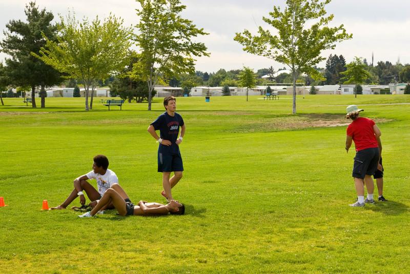 Time Trial #1; Chesterley Park; Yakima, Washington