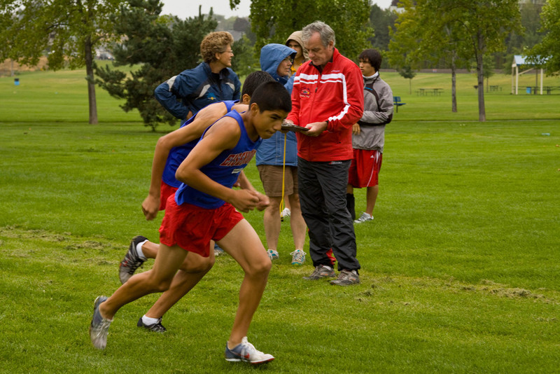Eisenhower Cross Country 2009, Time Trial #2; Chesterley Park