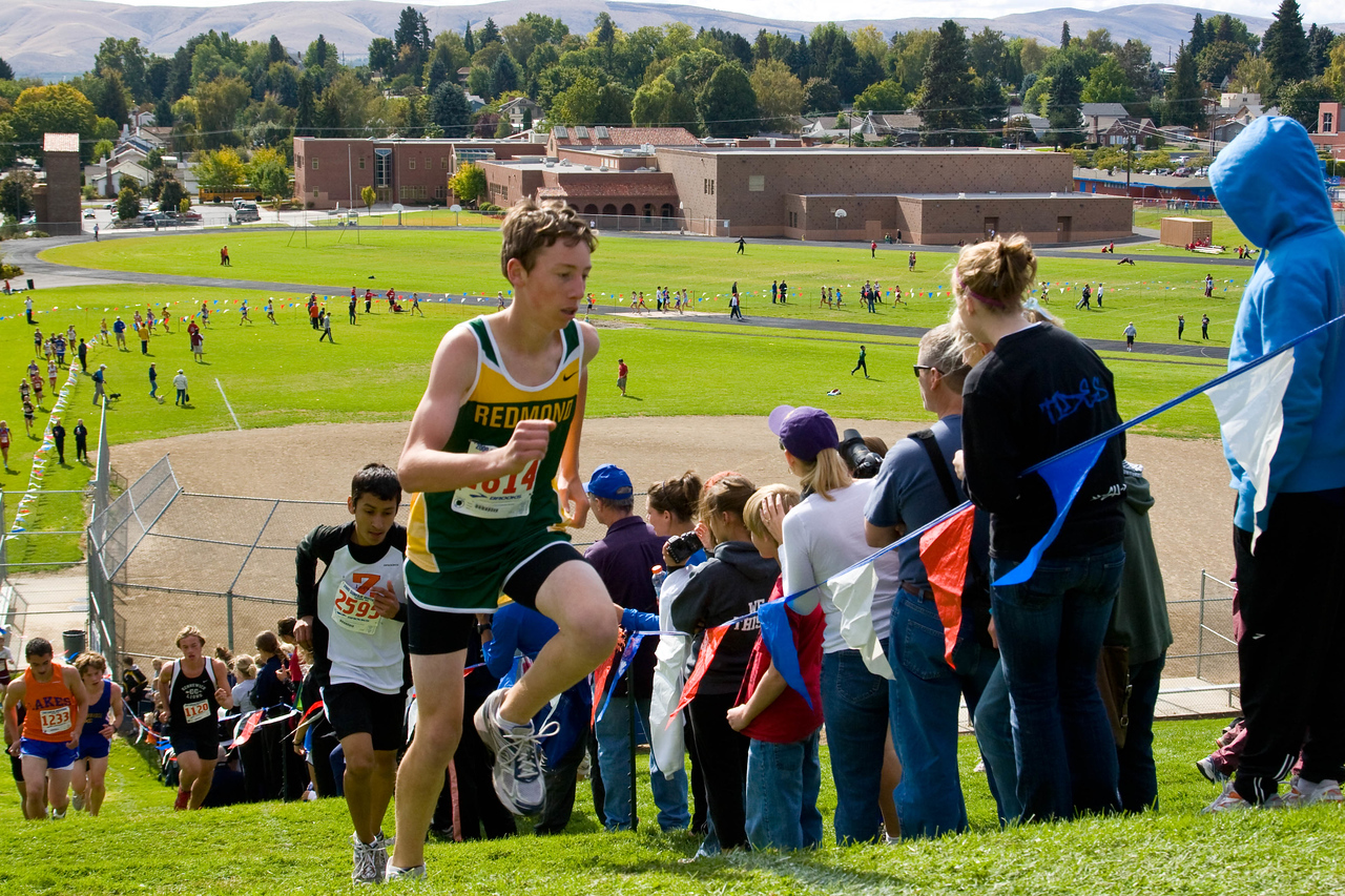 Varsity Flight 1 (#7 runner)