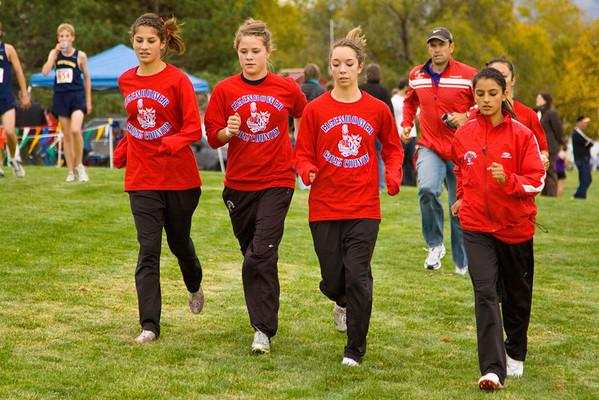 '09 Districts: Varsity Girls
