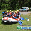 Mild rafting River Spey