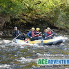Mild White Water Rafting on the Middle section of the River Findhorn with Ace Adventures