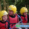 Family Rafting on the River Findhorn