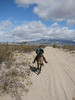 Riding the trail at the Eastern Mohave Classic