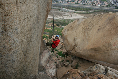 3/15/2009 - Rockclimbing @ Rubidoux