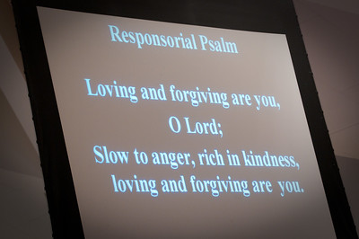 As the Lord is loving and slow to anger, rich in kindness...