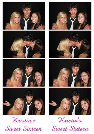 Kristin's Sweet Sixteen September, 19 2009