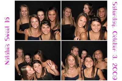 Natalie's Sweet Sixteen October 3, 2009