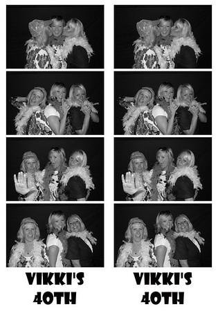 Vikki's 40th Birthday Party August 28, 2009