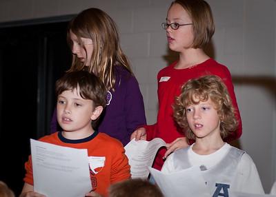 Dec 4th Christmas Program Rehearsal