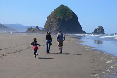 Family beach trip! June 27th, 2009