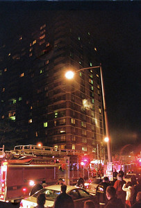 Photo's from Cliffside Park 4th Alarm Hi Rise Fire Anderson Ave 2-27-09