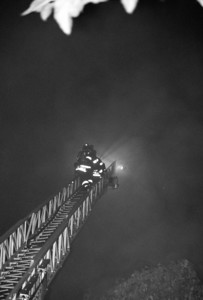 Photo's from  Leonia 4th Alarm Fort Lee Rd. 7-27-09 20:34hrs