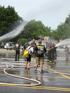 Photo's from New Milford Wetdown Engine 34 8-8-09