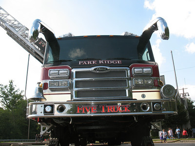 Photo's from  Park Ridge 5 Truck wetdown 7-18-09