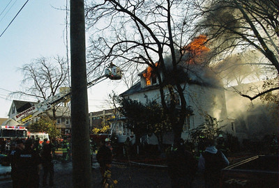 Photo's from Ridgefield 4th Alarm Alexander? 11-22-09 13:15hrs.