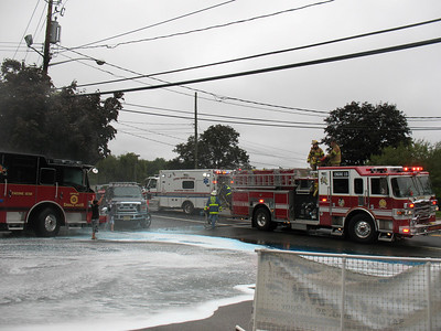 Photo's from  Upper Saddle River Dual Wet Down 8-29-09