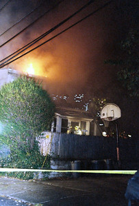 Photo's from  Wood Ridge 2nd alarm 484 Center St. 10-17-09 23:30hrs