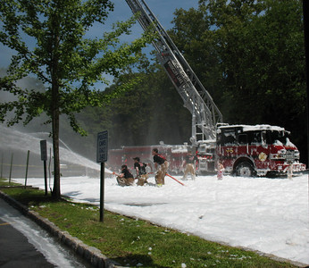 Photo's from Woodcliff Lake Wet down 75 Truck 8-8-09