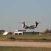 While wating in line to takeoff at Arlington, a Bell 609 Tilt rotor came in for a landing at the Bell skunk works on the west side of the airport.