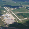 Airport at Aurora ILL, about 10 miles from my destination at DuPage Airport.  DuPage is 11 miles West of O'hare.