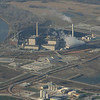 Lake Manawa power plant on the SE side of Council Bluffs.  Brother Wes works here often.  Missouri River on the left.