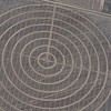Crop circle patterns.  I can't explain it.
