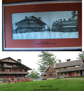 Main lodge when we where there in 2009 and in 1899
