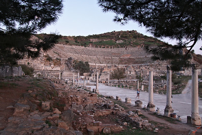 Amphitheater at Ephesus, Turkey.