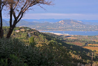 From a village high above St.Tropez, France