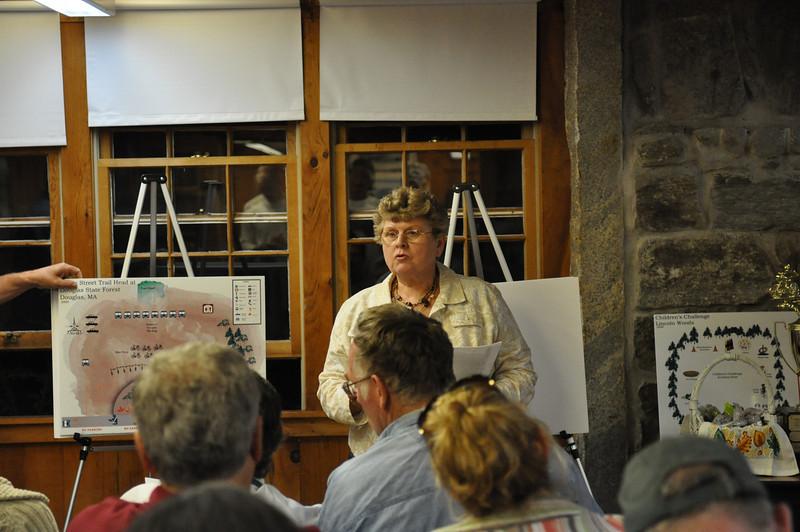 Carol describes Wallis Street Trailhead