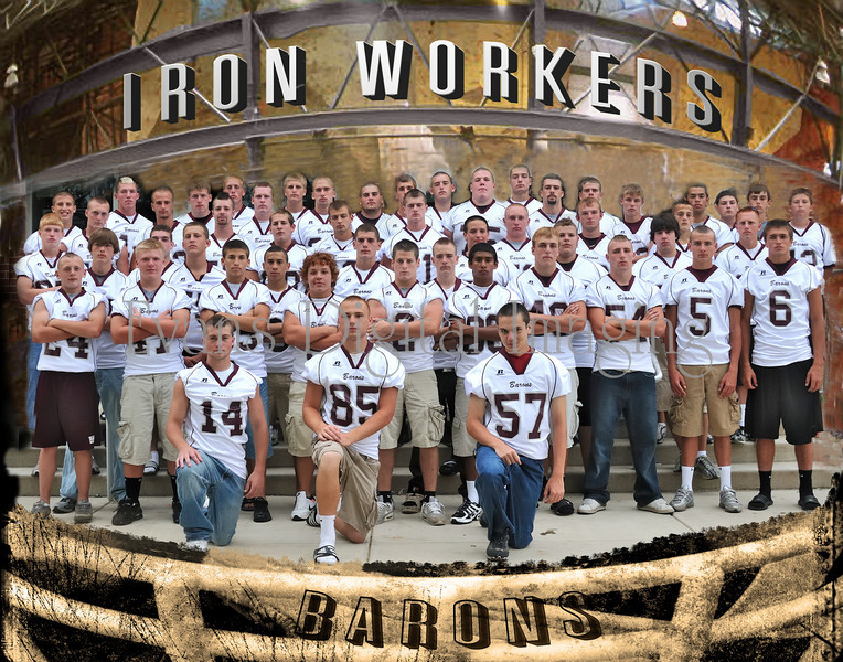 Manheim Central Barons Ironworkers final 1411
