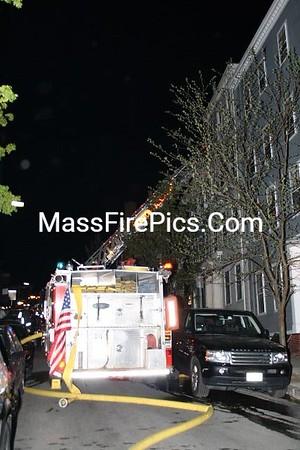 3rd Alarm Boston Ma. Box 4152 Salem St at High St 05/02/09