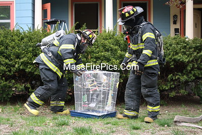 3rd Alarm Newton Ma. Box 234 391-393 Newtonville Ave 04/28/09