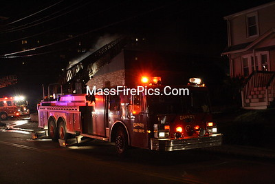 3rd Alarm Weymouth Ma. 217 Washington Street 12/17/09