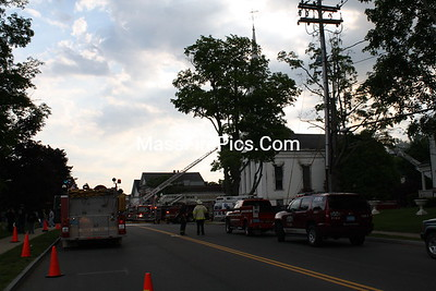 "4th Alarm+ Middleboro Ma. South Main Street ""Central Congregational Church"" 05/25/09"