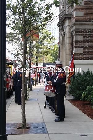 Boston Fire Dept. Lt. Kevin Kelley Dedication 08/23/09