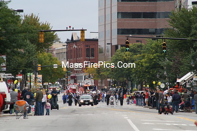 Manchester NH Fire Dept. Fire Prevention Parade 10/04/09