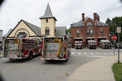 Retired Waltham Ma. Fire Chief Edward Cloonan Jr. Funeral 05/23/09