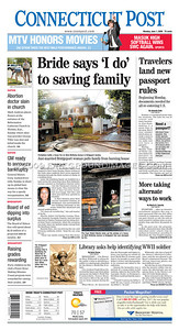 Connecticut Post (FRONT PAGE) 6/1/09
