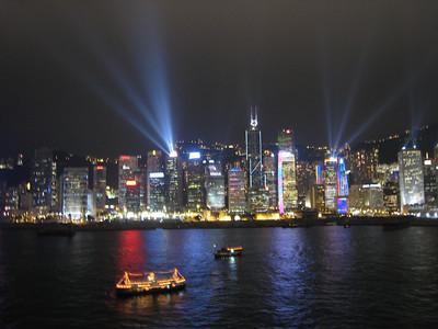 2009 0407 Hong Kong at Night