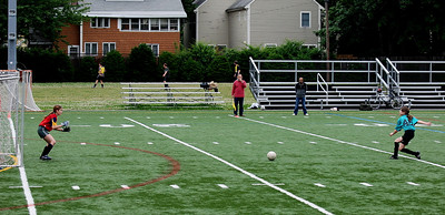 Isabel got a free kick